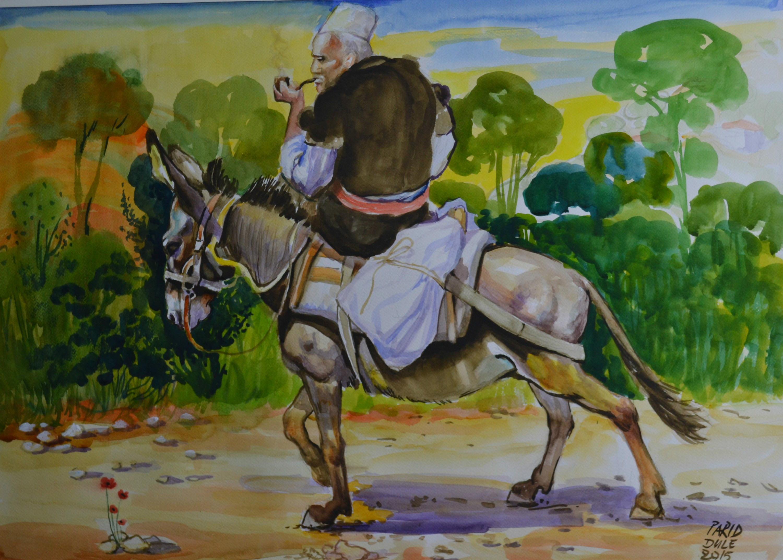 The old men in donkey